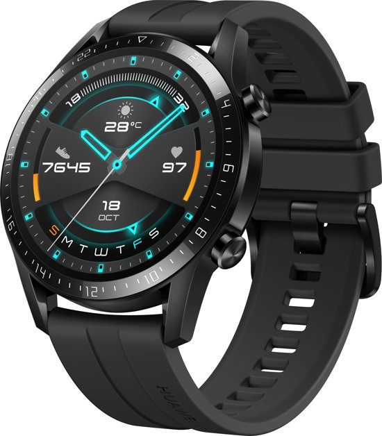 """miniature 4 - HUAWEI Watch GT 2 (46mm) Smart Watch, 1.39"""" AMOLED Display with 3D Glass Screen,"""