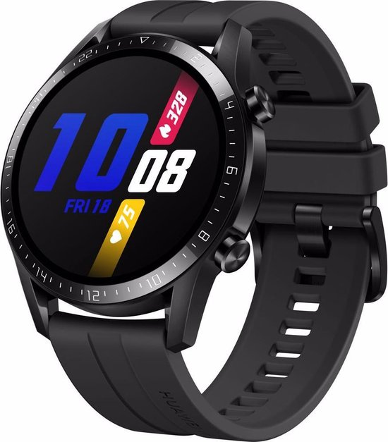 """miniature 2 - HUAWEI Watch GT 2 (46mm) Smart Watch, 1.39"""" AMOLED Display with 3D Glass Screen,"""